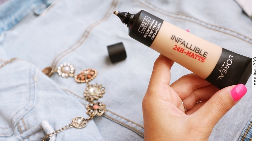 fond de ten L'Oreal Infallible 24h-matte pareri review