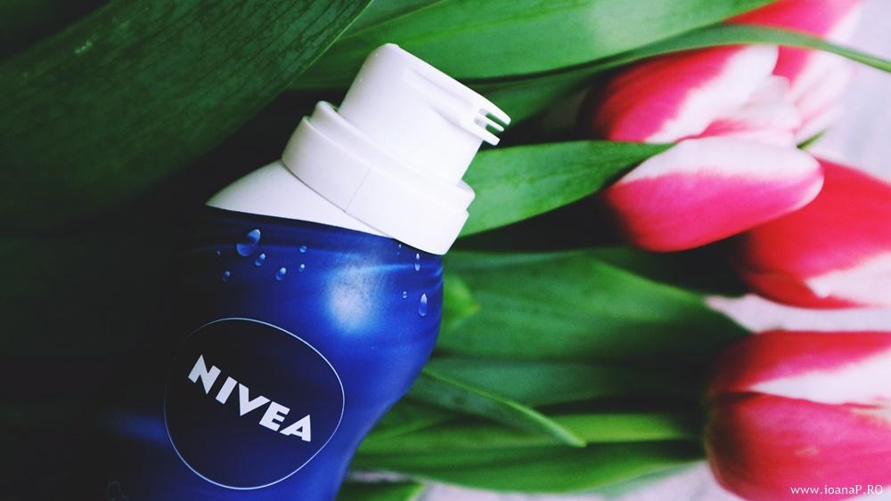 review spuma de dus Nivea Silk Creme Care