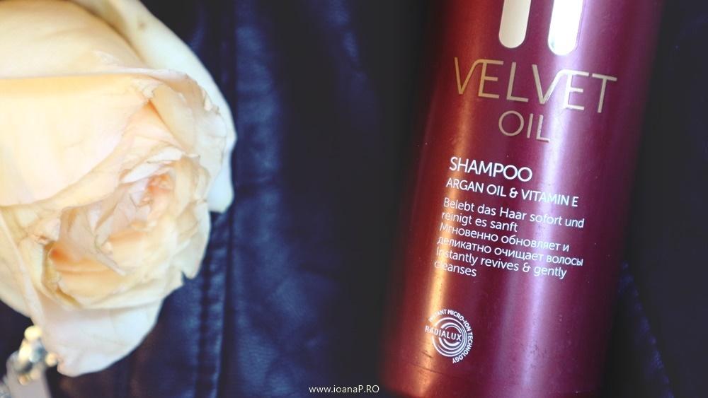 sampon Londa Professional Velvet Oil cu ulei de argan vitamina E si pantenol review
