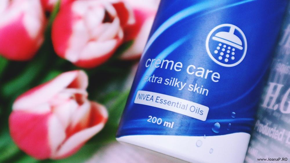 spuma de dus nivea essential oils