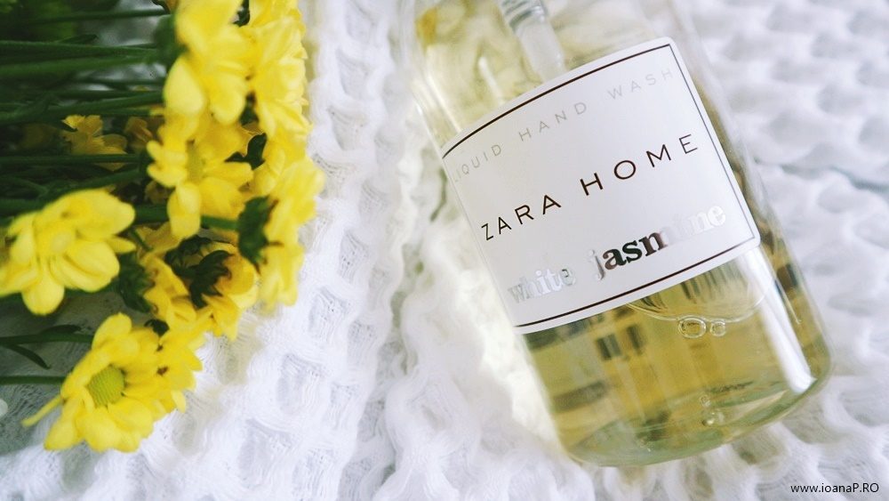 Sapun lichid Zara Home White Jasmine - liquid hand wash review