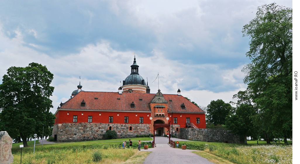 castelul Gripsholm din Mariefred Suedia foto1