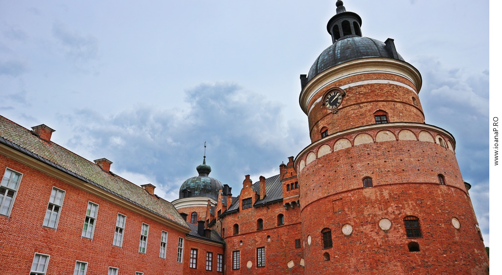 castelul Gripsholm din Mariefred Suedia foto2