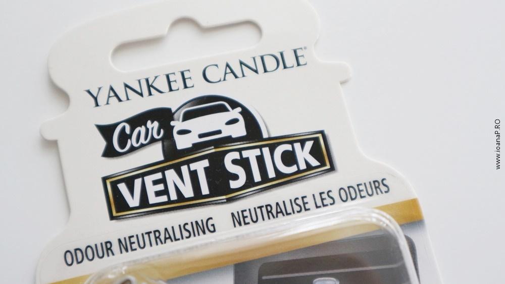 odorizante auto Vent Stick Yankee Candle