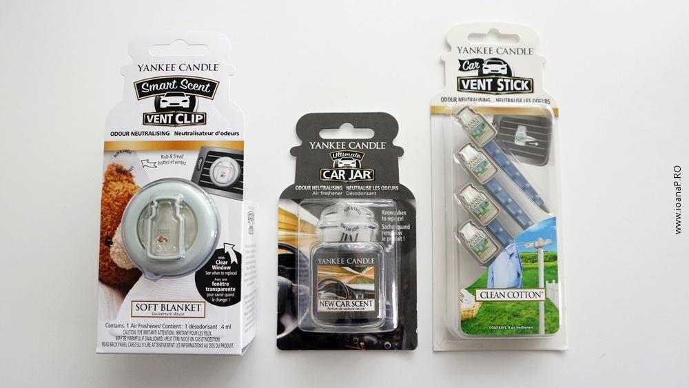 odorizante auto Yankee Candle - Vent Clip Car Jar Vent Stick