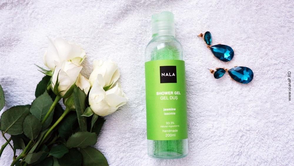Gel de dus NALA cu iasomie ingrediente naturale review