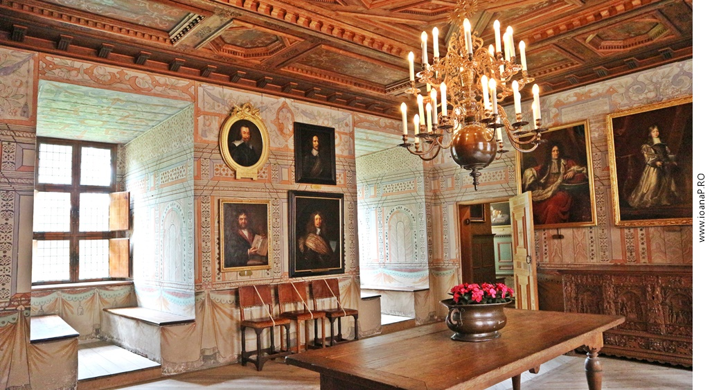 castelul Gripsholm din Mariefred Suedia foto5