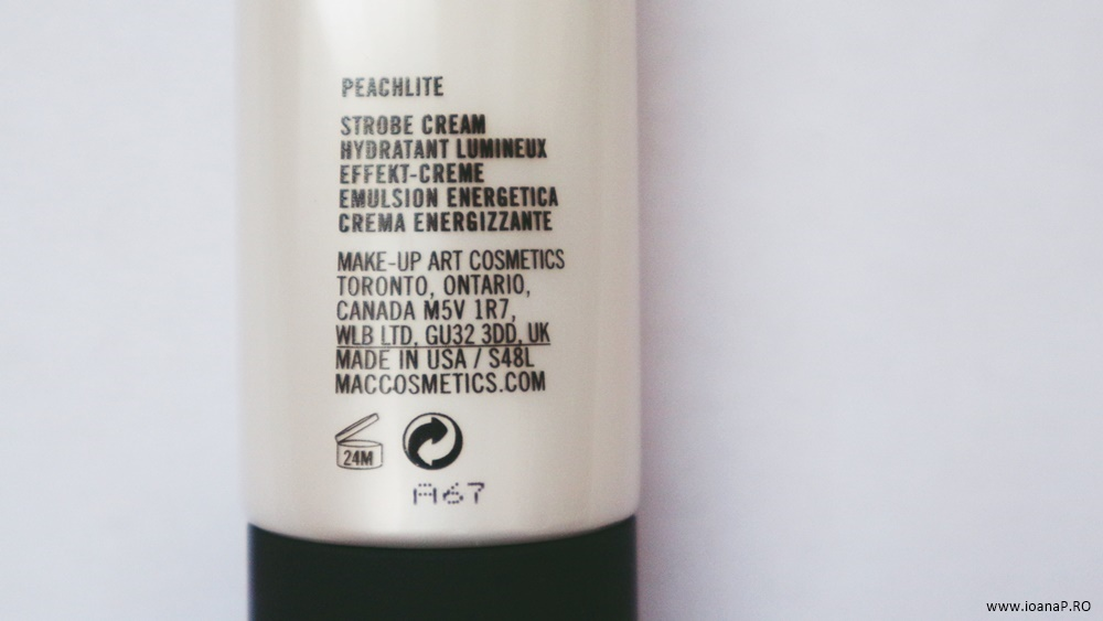 MAC Strobe Cream Peachlite info