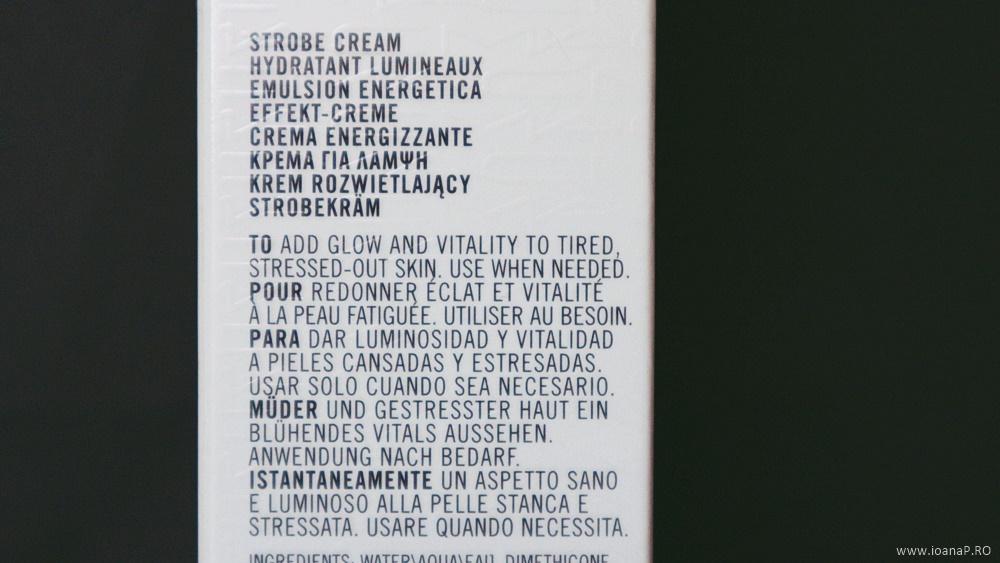 MAC Strobe Cream Peachlite informatii de pe cutie