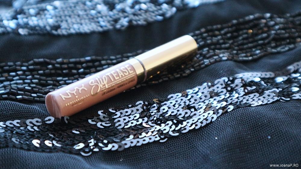set de rujuri lichide NYX Professional Makeup Love Lust Disco Slip Tease foto5