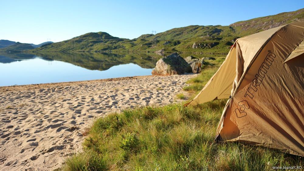 Muntii Scandinaviei Norvegia cu cortul | cort Trimm