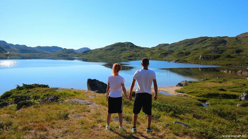 Muntii Scandinaviei Norvegia cu cortul 17
