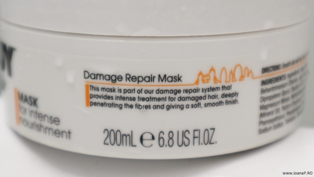 masca de par TONI&GUY Damage Repair 03