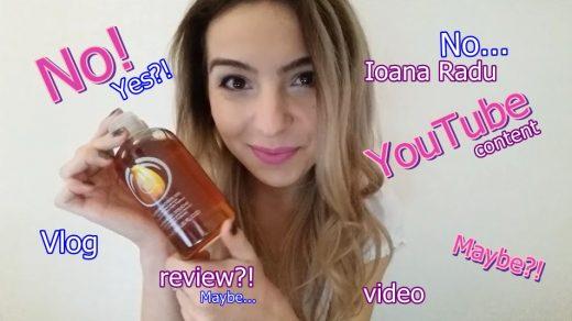 Ioana Radu vlog