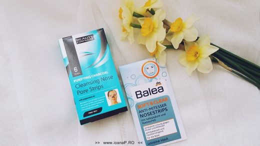 plasturi pentru îndepărtarea punctelor negre de pe nas Beauty Formulas si Balea