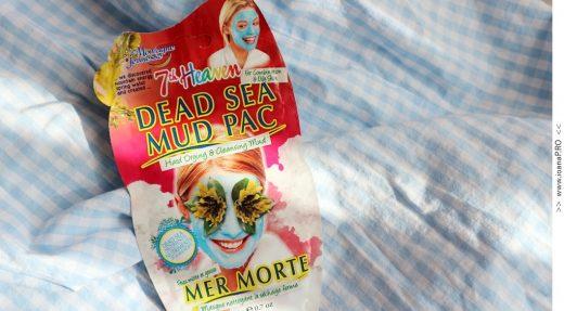 masca de fata Dead Sea Mud Pac de la 7th Heaven