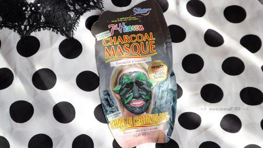 masca de fata cu carbune de la 7th Heaven review