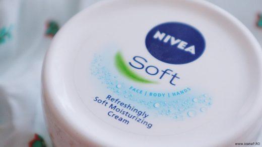 crema de corp Nivea Soft review